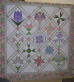 Blocks of the Month Birthday Quilt 2011