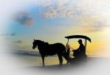 Sunset at Parangtritis Beach