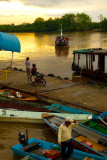 Boat on Rajang River