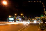 Sibu Street at night