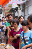 queue for fried squid