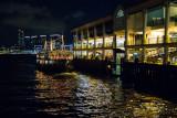 Central Pier at night