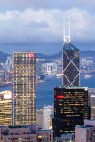 Bank of China Tower and Cheung Kong Centre