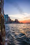 boat ride to  Tsim Sha Tsui