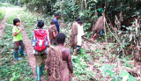 DZANGA NDOKI NP CENTRAL AFRICAN REPUBLIC - DAY WITH THE BA'AKA PYGMY (9).JPG