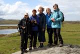Girls at Calanish Stone Circle