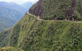 Carretera de la muerte , Bolivia.