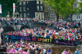 Canal Parade ~ Sport boat
