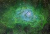Lagoon Hubble Palette