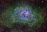 Lagoon Hubble Palette V2