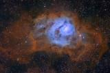 Lagoon Hubble Palette V3