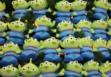 3-eyed rubber aliens