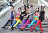 Rainbow legs