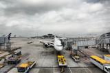 Departing HK