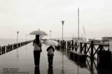 A rainy day in Danshui