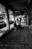 A dark street
