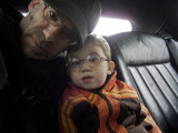 Ethan and Me Wearing Glasses