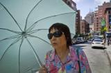 Woman With Umbrella 7189