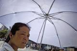 Woman With Umbrella 7190