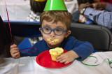 Ethan At Gavin's Birthday Party