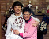 Jake and Aunt Carol  2011