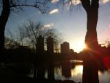 Central Park, NY, amaneciendo