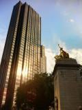 Central Park big loop (10k), tempranito