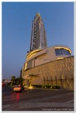 Dubai Skyline opposite Burj Khalifa
