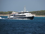 Trasmapi's Ibiza Jet approaching La Savina - September 2011
