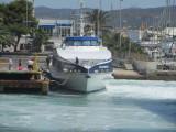 Mediterranea Pitiusa's new ferry Aires de Formentera at Ibiza