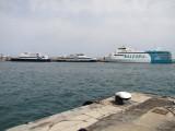 Trasmapi's Formentera Jet, Mediterranea Pitiusa's Blau de Formentera and Balearia's Nixe