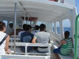Inside The AquaBus Ferry