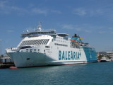 Balearia Ferry Martin i Soller at Ibiza