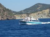 Santa Eulalia Ferry Santa Eulalia Heading For Ibiza