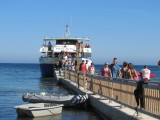 Day Trippers Returning To Playa d'en Bossa After A Great Day At Formentera