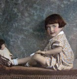 Flora as a child