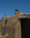 Pueblo Doorway and Roof