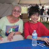 Carolyn with Hiromi