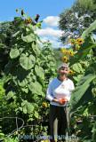 Anni in her 2011 Garden