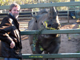 Ric Feeding the Rhino