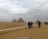 Overcast Day Visiting the Pyramids