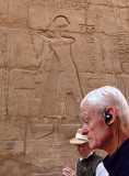 Karnak's incised figures are lifesized