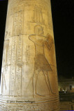 Hieroglyphs on the Columns