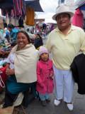 Beautiful Family in Otavalo