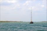 sailboat on ICW