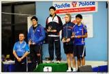 Junior Boys victory podium