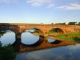 The Town  Bridge , well  reflected.