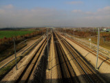 The  new  high  speed  rail  link.