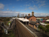 Annan  Railway  Station, opened in 1848.