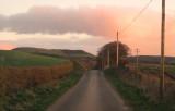 The  light  of  dawn  over  Burnswark.